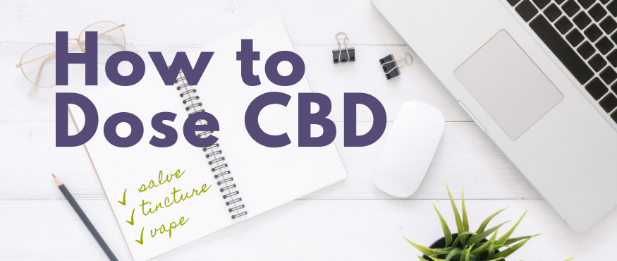 how to dose cbd oil